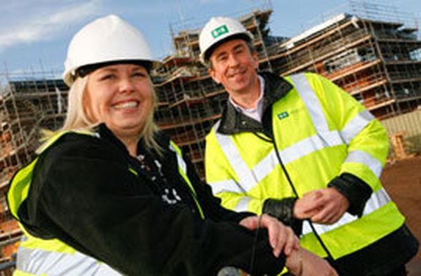 Topping out of latest building at Wolverhampton Business Park